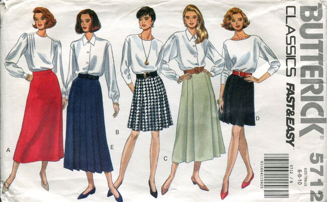 Butterick5712skirts