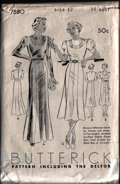 Butterick 7580 front