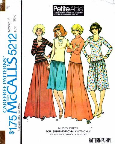 McCalls 1976 5212