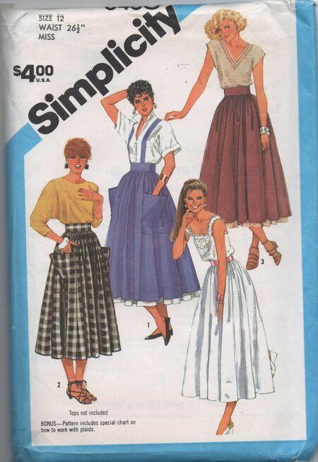 Simplicity 6460 b
