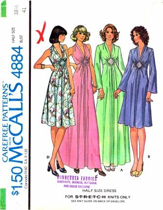 McCalls 4884
