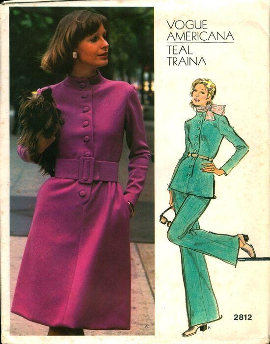 Vogue 2812 Traina 70s
