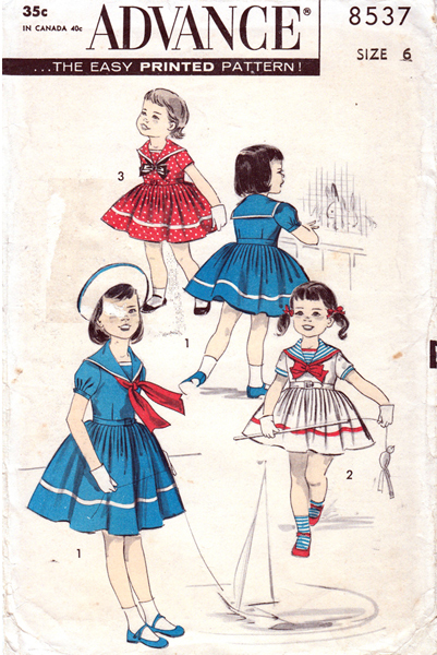 Advance-8537-girls-pattern