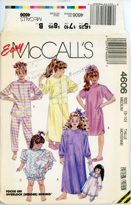McCall's-4606zfront