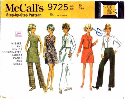 McCalls 9725 A