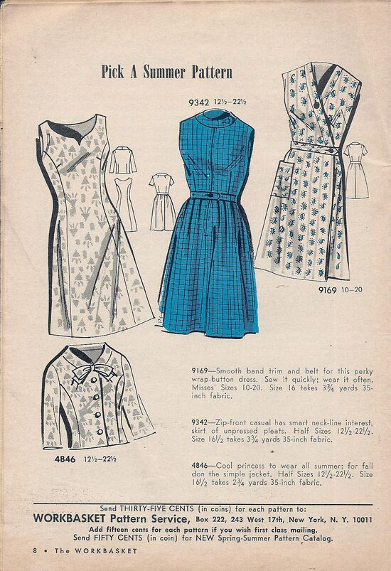 Mail Order Dress Patterns