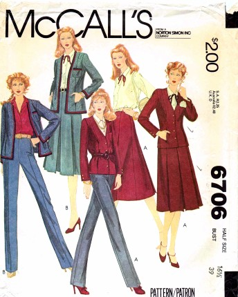 McCalls 1979 6706