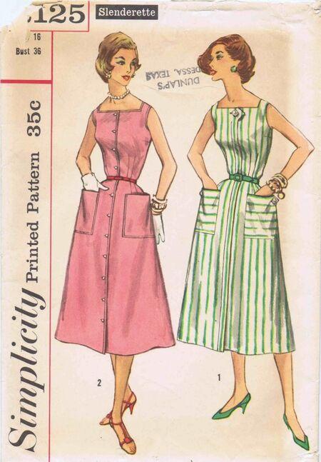 Simplicity 1957 2125