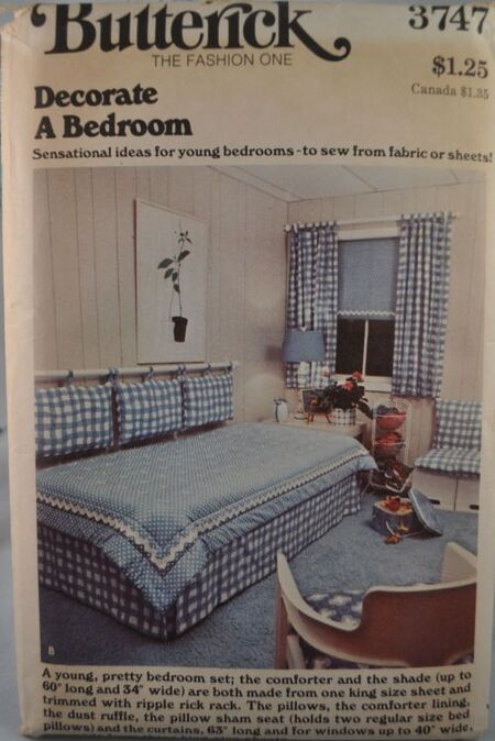 Butterick 3747 bedrooms a