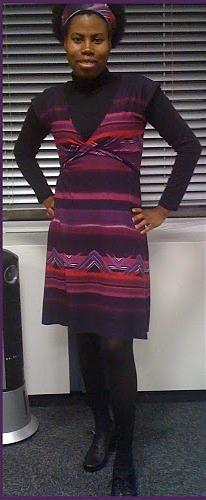 Robe violette3