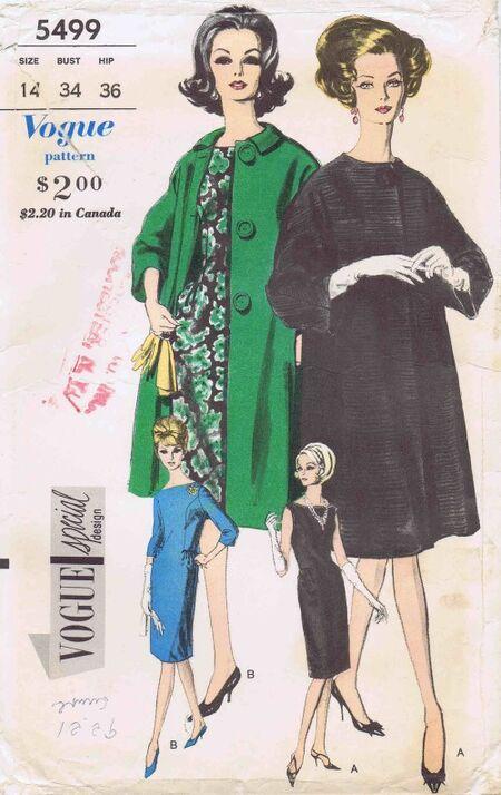 Vogue 1962 5499