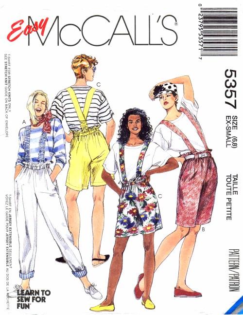 McCalls 1991 5357