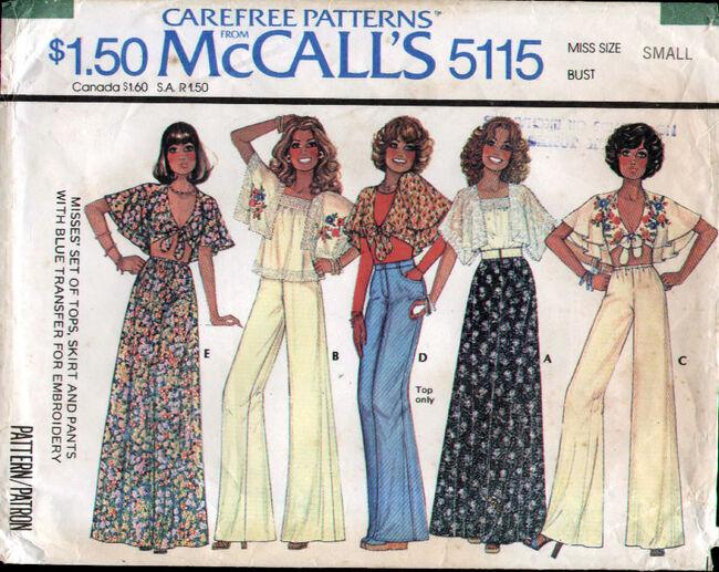 McCalls 5115 70s
