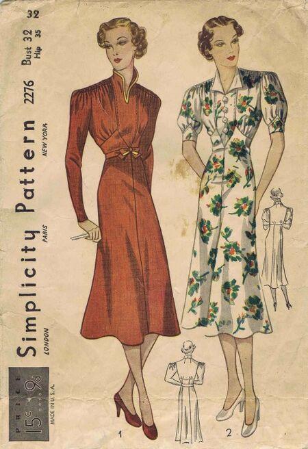 Simplicity 1937 2276