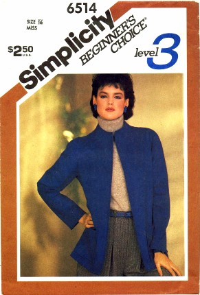 Simplicity 1984 6514