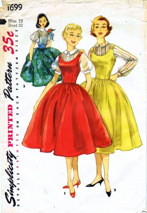 Simplicity 1956 1699
