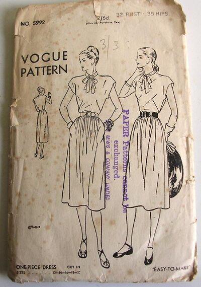 Vogue 5992 image