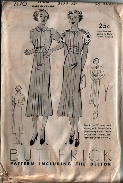 Butterick 7170 front