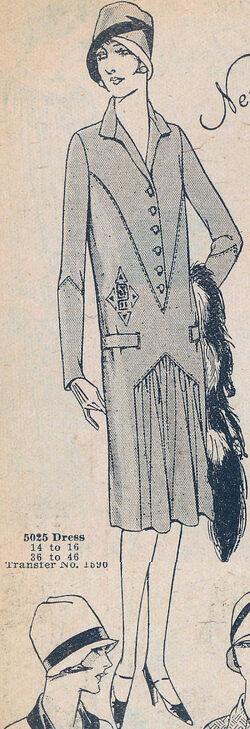 McCall 1927 5025 A