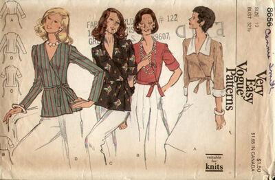 Vogue 8656 70s a