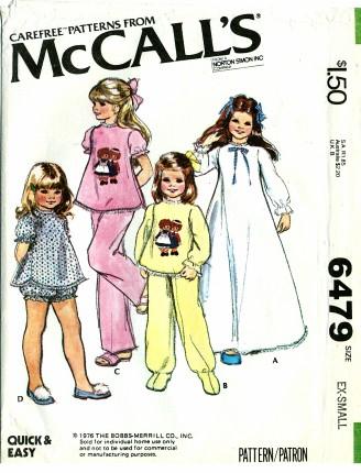 McCall's 6479