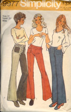 9977S 1972 Pants