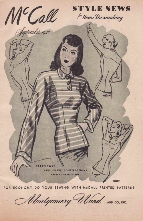 McCall's Style News from September 1947