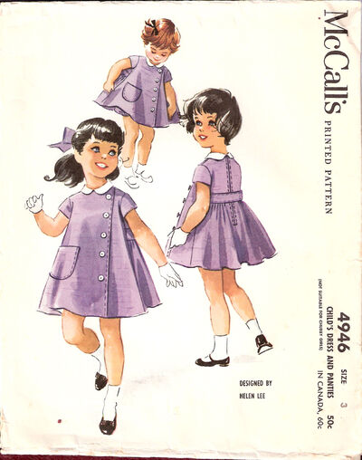 Mccalls-childs-dress-and-pa