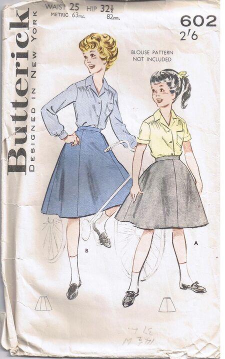 Butterick 602