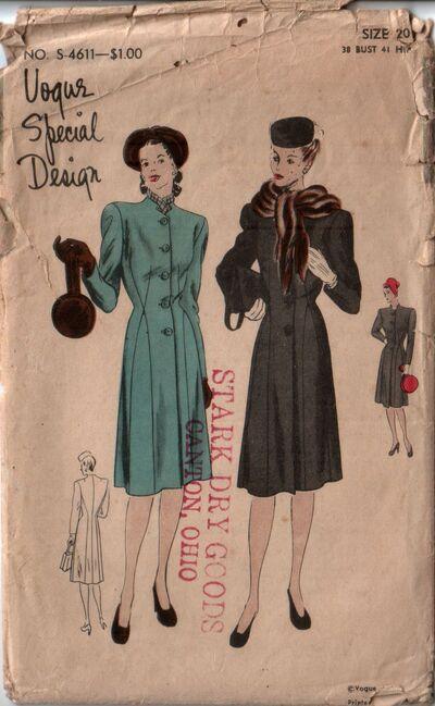 Vogue s-4611 front