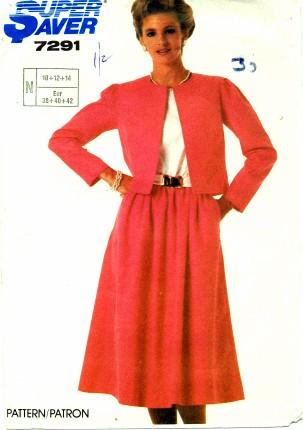 Simplicity 1985 7291