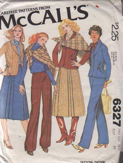 McCalls 6327