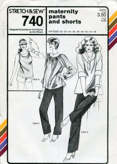 Stretch&sew740maternity