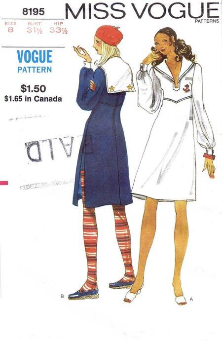Vogue 1972 8195