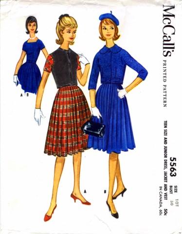 McCalls 1960 5563