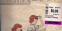 Butterick 7058 A