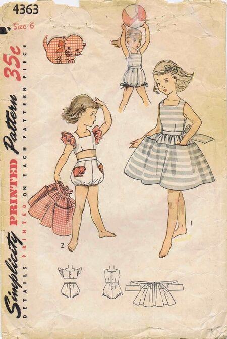 Simplicity 1953 4363