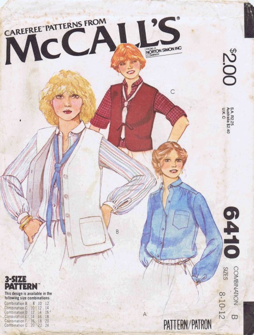 McCalls 1978 6410