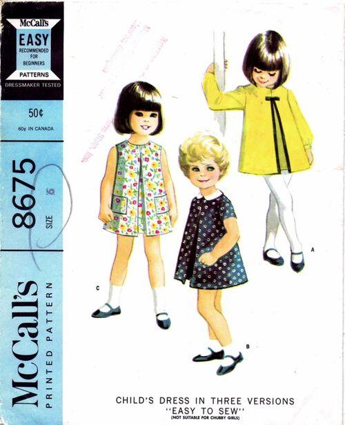 McCalls 1967 8675