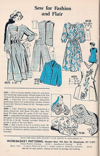 Mail Order Patterns Oct 85