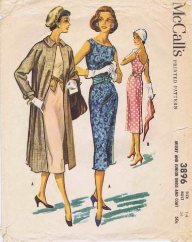 McCalls 1956 3896