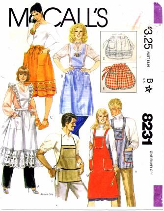 McCalls 1982 8231