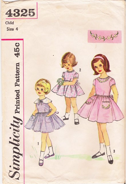 1950's Simplicity 4325 front