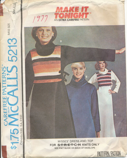 1976 McCall's 5213 size small