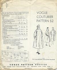 Vogue 582 a back
