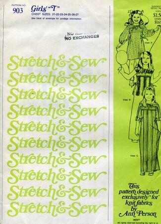 Stretch&sew903a