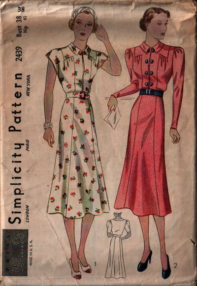 Simplicity 2439 front