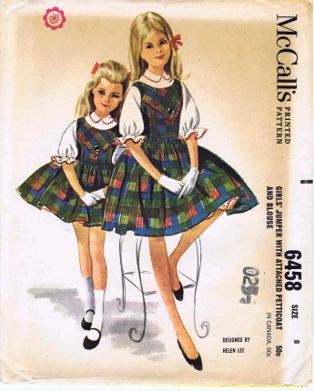 McCalls 1962 6458
