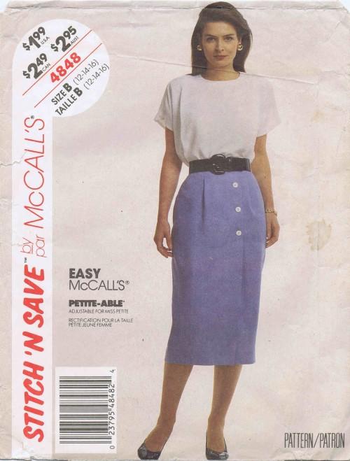 McCalls 1990 4848
