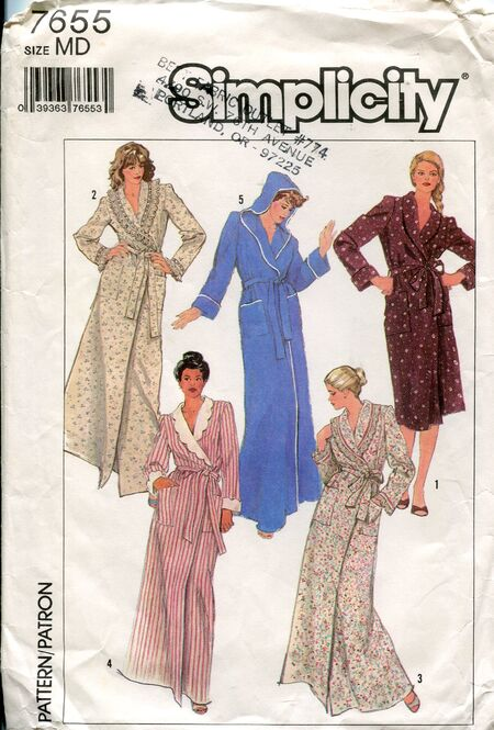 Simplicity7655robes